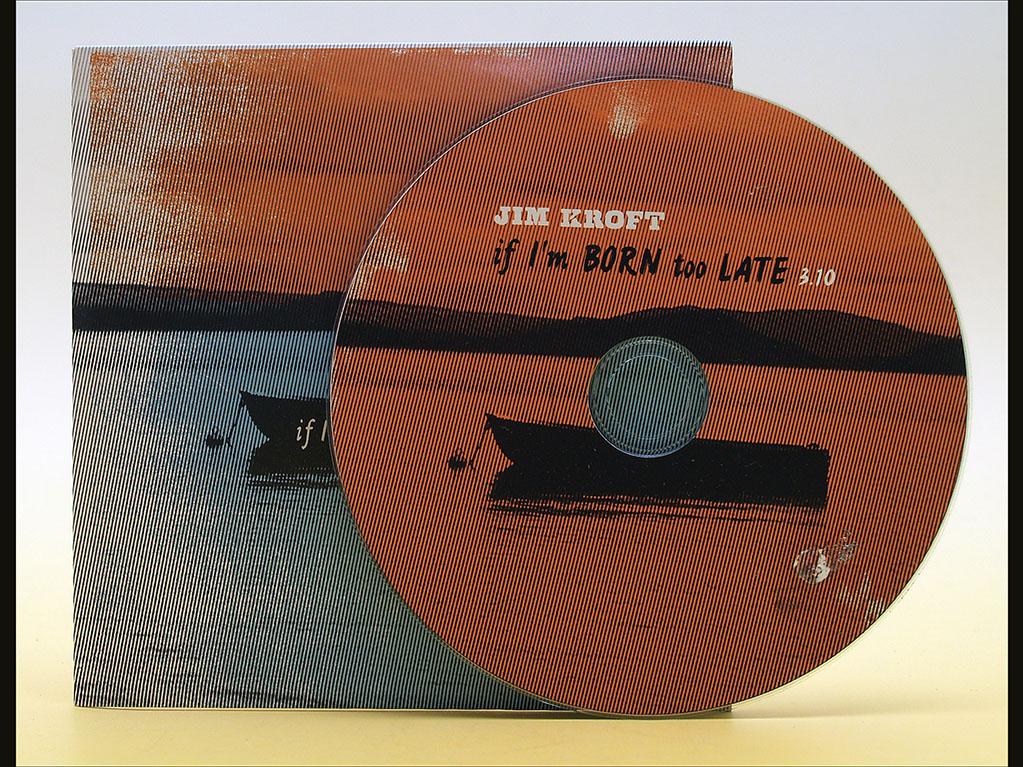 CD mit vollflächigem Tintenstrahldruck