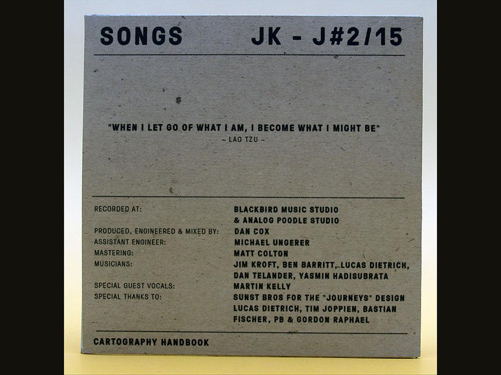 Kartonstecktasche für CD