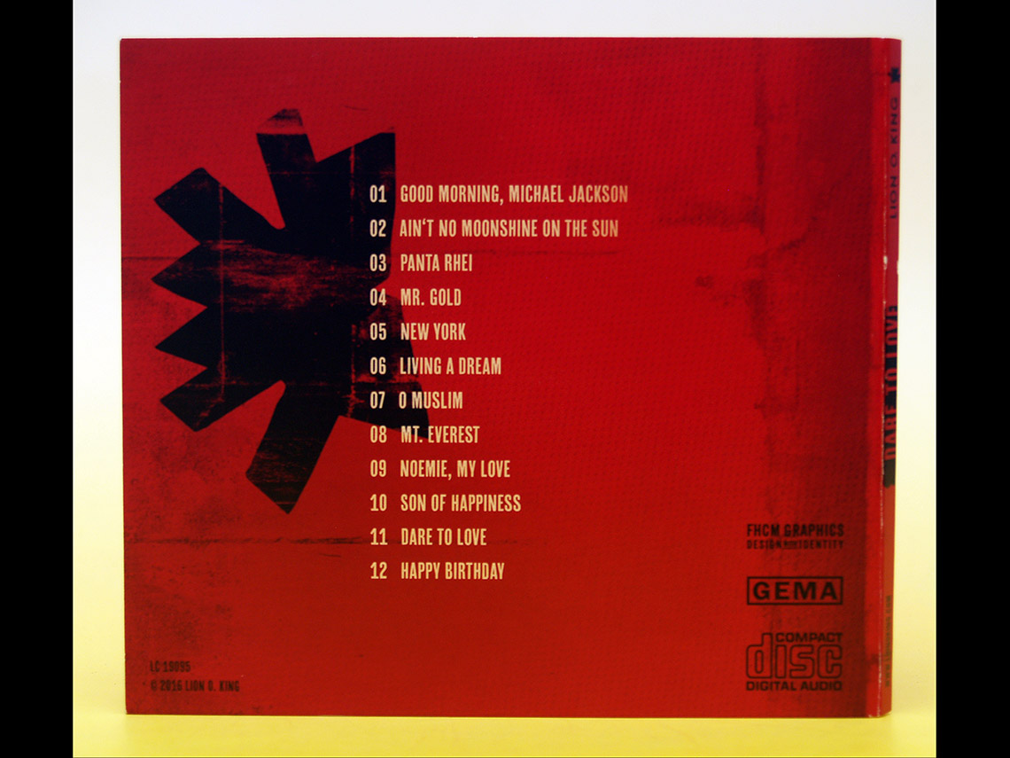 Lion O. King – Dare to Love CD