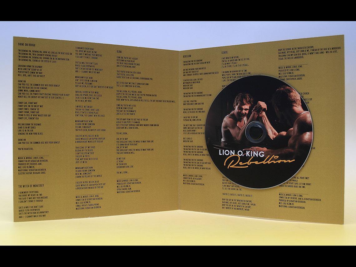Lion O. King – Rebellion CD