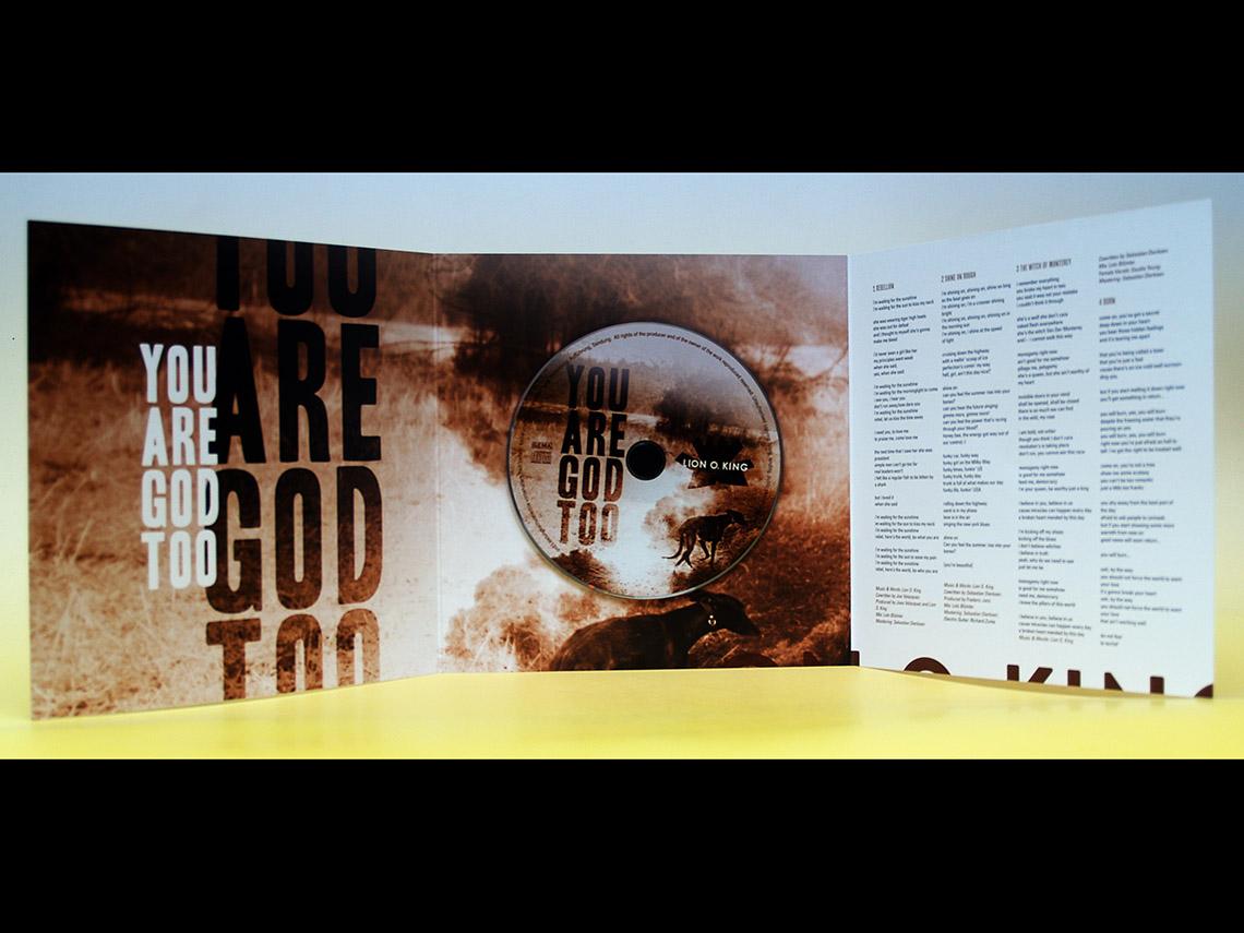 Lion O. King – You Are God Too CD