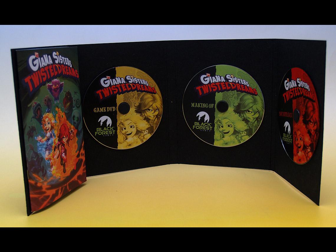 Booklet und CDs
