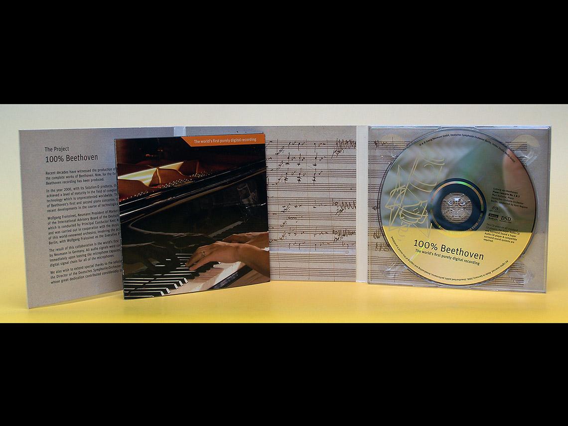 DigiPac mit Booklet und CD