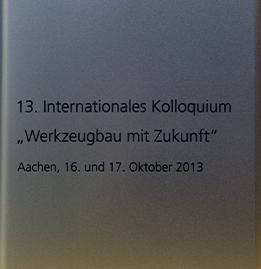 Internationales Kolloquium - Werkzeugbau mit Zukunft Buch-Cover