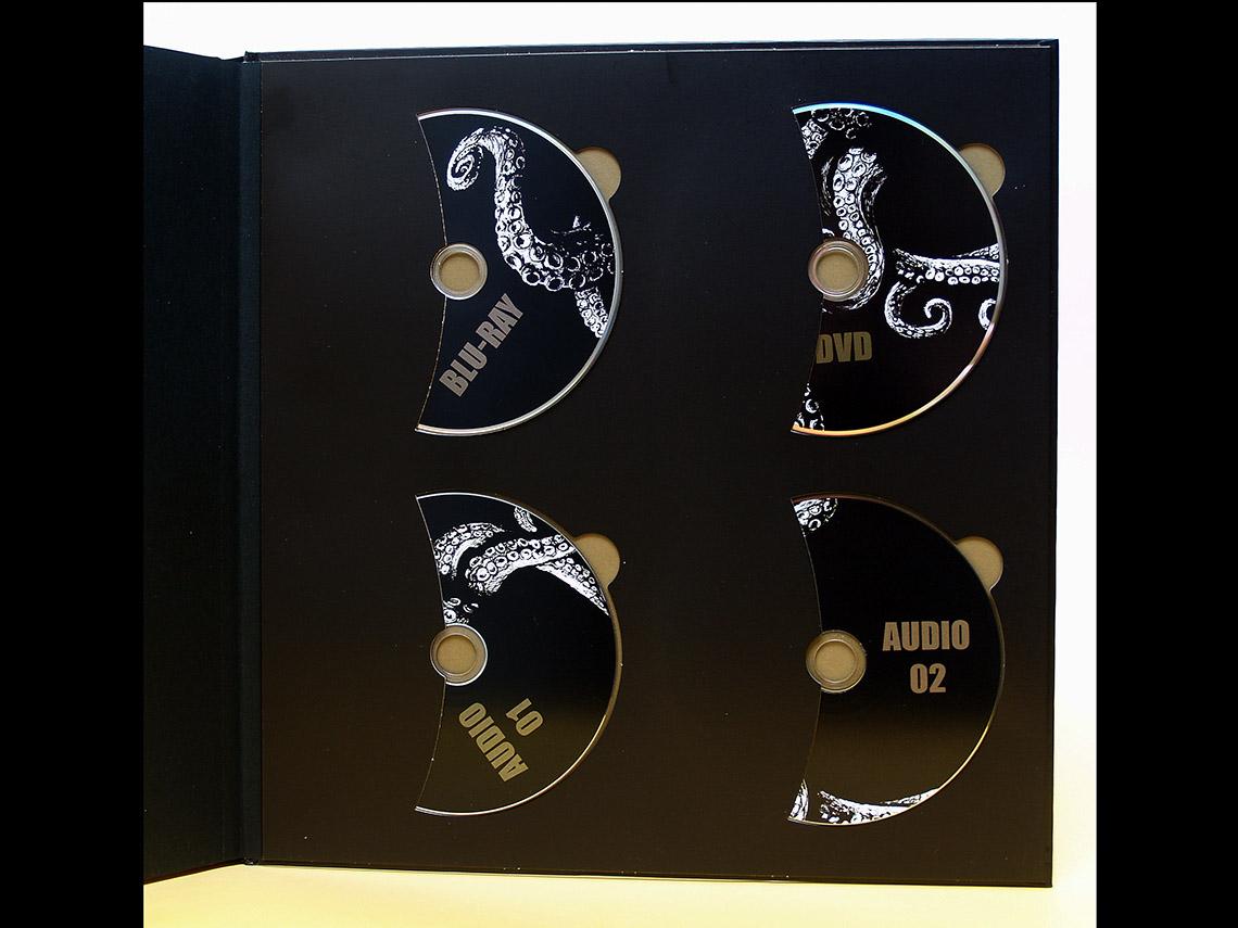 Halterung für 4 CDs