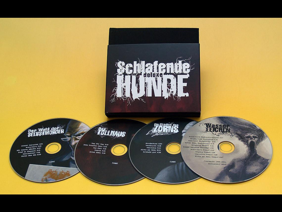 Buch und 4 CDs