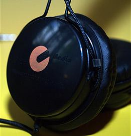 Werbung Kopfhörer